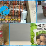 Gửi hạt điều, đậu phộng, hạnh nhân, hạt óc chó đi Singapore