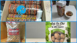 gửi hạt điều hạt đậu phộng hạt hạnh nhanh hạt óc cho đi singapore