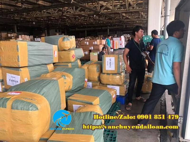vận chuyển gửi hàng đi Đài Loan
