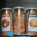 Nhận gửi mực cán, mực hấp dừa đóng hộp sang Đài Loan