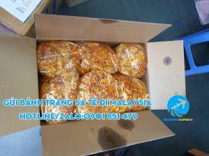 gửi bánh tráng đi malaysia giá rẻ
