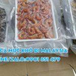 Gửi cá khô tôm khô mực khô đi Malaysia giá rẻ