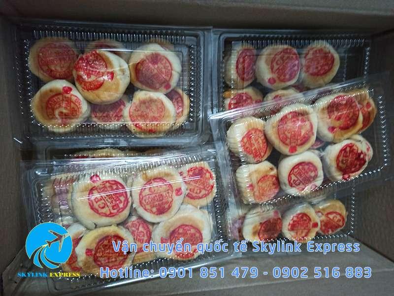 Gửi bánh pía đi Đài Loan