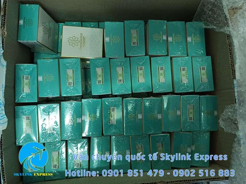 Gửi trà thảo mộc giảm cân sang Đài Loan tại Skylink Express