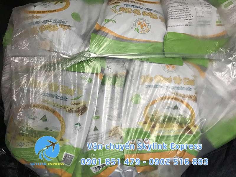 Bột yến mạch gửi đi sang Đài Loan